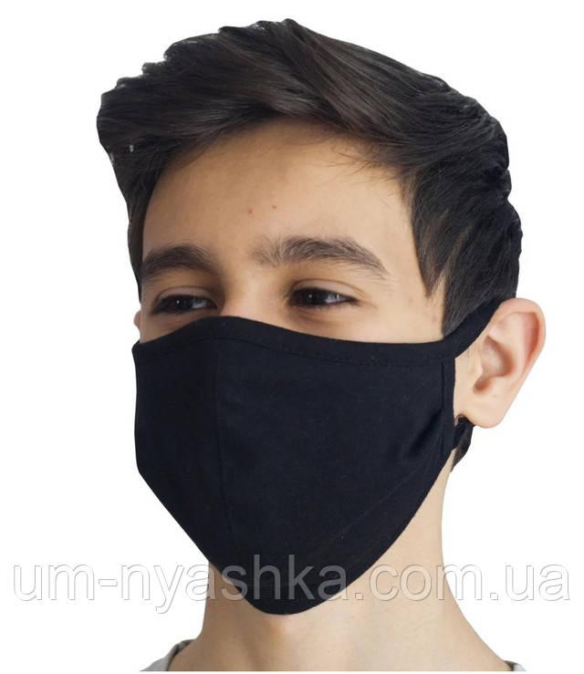 маска для лица черная