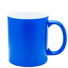 Чашка для сублимации неон 330 мл (Голубой)