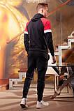 Спортивный костюм мужской Турецкая двунитка Размер 48 50 52, фото 5