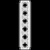Рамка 6-я вертикальная белая ViKO Carmen