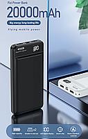 Power Bank REMAX Proda RPP-106 Fizi Series (20000mAh/2A/2USB) + TYPE C input Black, фото 6
