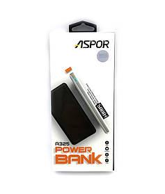 Внешний аккумулятор / Power Bank ASPOR A325 (5000mAh/2.4A/2USB) White