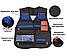 Боевой набор для игр с оружием Nerf (набор 2): жилет, бафф, очки, 20 пуль, напульсник, патронташ, фото 6