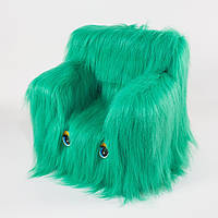 Детский Стульчик Zolushka Пушистик 43см зелёный (6267)