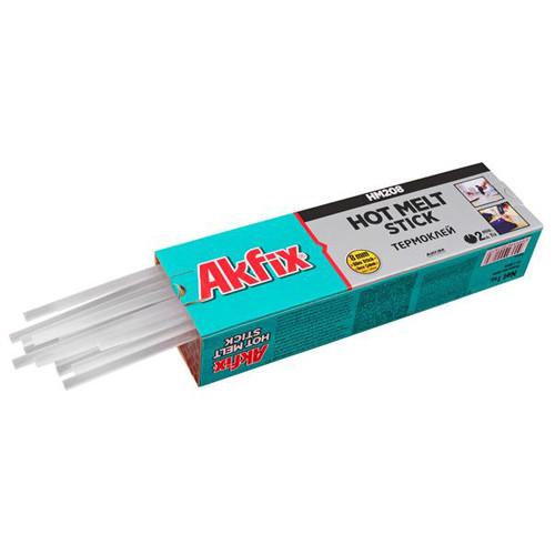 Стержні клейові Акфикс GA120 * 8 мм /прозорі/ 300мм/77шт в уп./