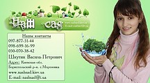 Садовый центр «Наш Сад» выращивание и продажа декоративных и плодовых растений.