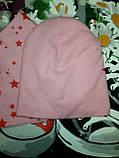Набор шапка + хомут для девочки Размер: 54-56 см, фото 2