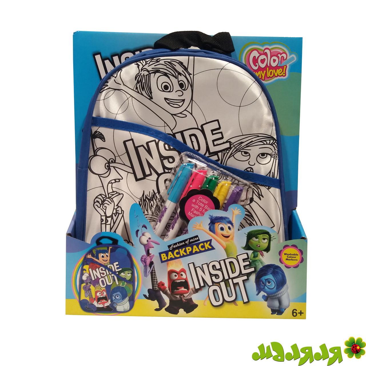 Рюкзак детский раскраска Головоломка