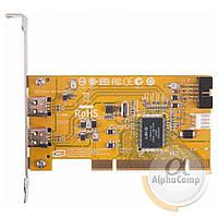 Контроллер PCI - FireWire (EXT: 2×FireWire) БУ