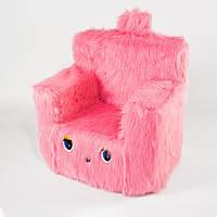 Детский Стульчик Zolushka Пушистик 43см розовый (6263)