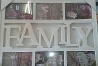 Фоторамка -коллаж Famili 5