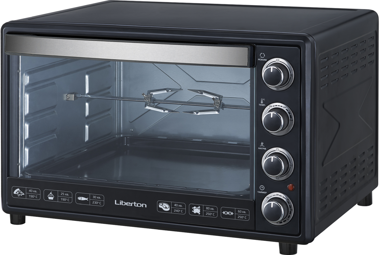 Электродуховка Liberton LEO-650 Black (65 л)