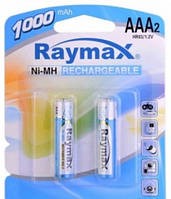 Акумулятор Ni-Mh Raymax HR03 1000mAh 1.2 V Original