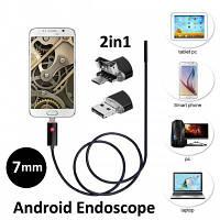 Ендоскоп 3.5м 7мм бороскоп 3.5м эндоскоп 3.5м для телефона, фото 1