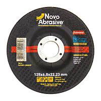 Обдирочный (зачистной) диск круг для болгарки по металлу 125х6х22,23 т27 Novoabrasive Extreme