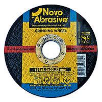 Обдирочный (зачистной) диск круг для болгарки по металлу 115х6х22,23 т1 Novoabrasive