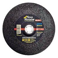 Обдирочный (зачистной) диск круг для болгарки по металлу 230х6х22,23 т27 Novoabrasive Extreme