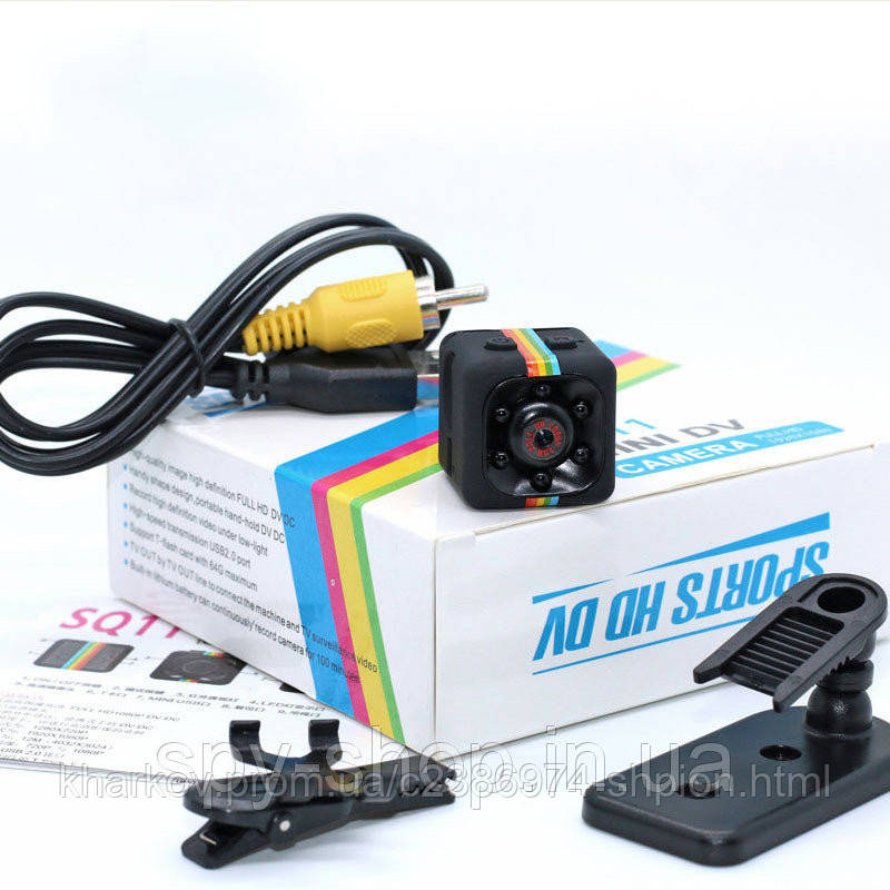 Самая маленькая Мини камера sq11 Мини камера sq8