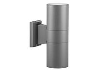 Фасадный архитектурный светильник DH0702 без лампы 2хE27 серый