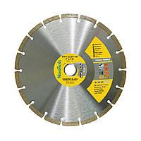 Диск алмазный по бетону, камню для болгарки 230х7х22,23 NovoTools Standard