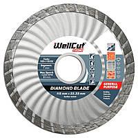 Диск алмазный по бетону 115х7х22,23 Wellcut Promo