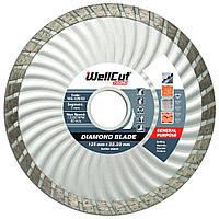Диск алмазный по бетону 125х7х22,23 Wellcut Promo