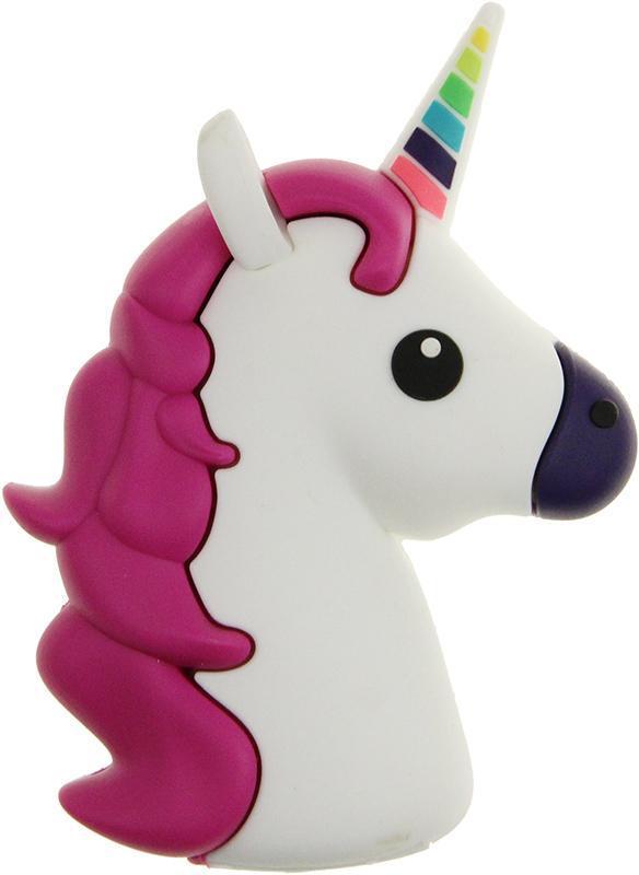 УМБ TOTO TBHQ-91 Emoji Unicorn Power Bank 8800 mAh White (77286)