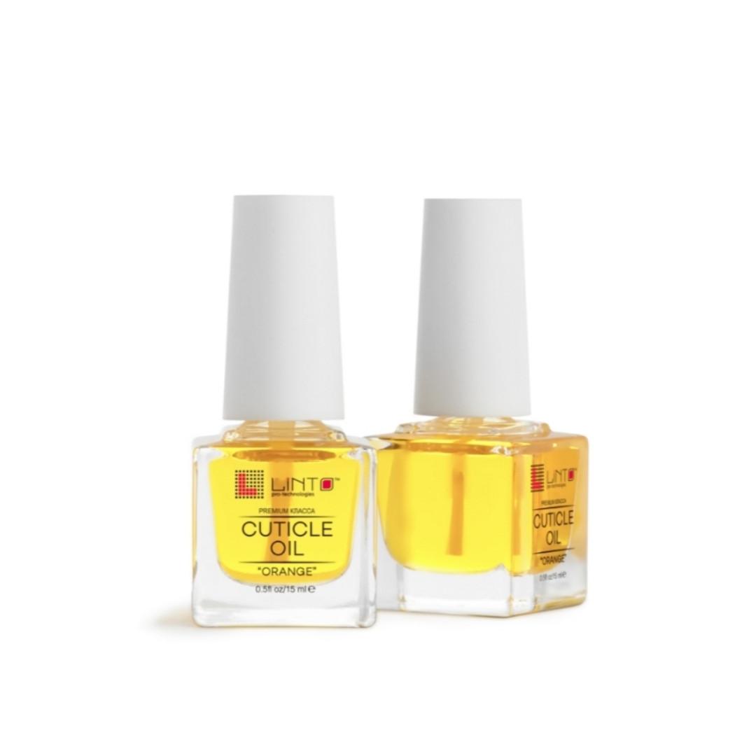 """Масло для кутикули (Cuticle Oil """"Orange"""") від Linto, 15 мл"""