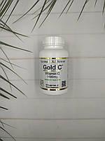 Витамин C 1000 мг California Gold Nutrition, Gold C, 60 caps vitamin c CGN повышает иммунитет и здоровье