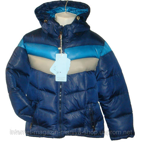 Мужская детская куртка Холлофайбер