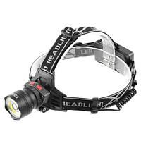 Налобный фонарь POLICE BL-8005-T6+COB