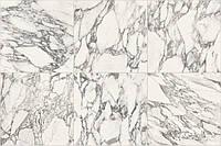 Плитка керамогранитная , CASA DOLCE CASA,STONES 2.0 ARA.WHI.MAT.6MM 120X280 RET,Италия,6мм