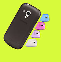 Чехол Smart Silicase Case Samsung I9190 Galaxy S4 mini Black
