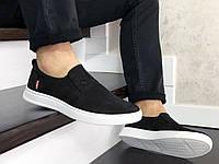 Кросівки чоловічі Levis чорні