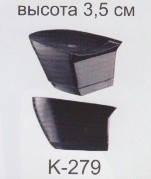 """Каблук пластиковый высота 3,5 см """"Сталекс"""""""