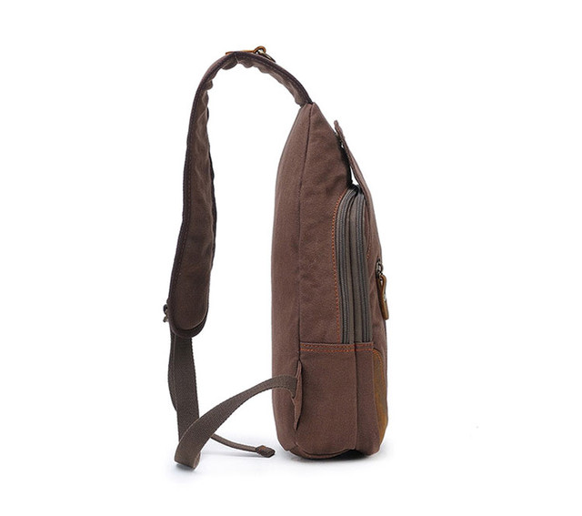 Рюкзак через плечо Augur вид сбоку
