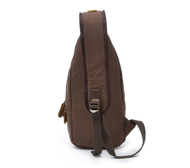 Рюкзак через плечо Augur вид сзади