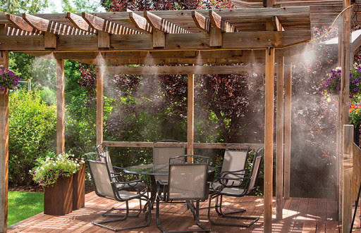 Системы туманообразования в ресторанах и кафе