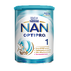 "73_Годен_до_31.08.21 Nestle ЗГМ з.г.м. ""Нан 1"" New 400г"