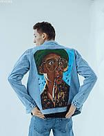 Куртка мужская джинсовая Staff hand made c14