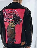 Куртка мужская джинсовая Staff hand made c7