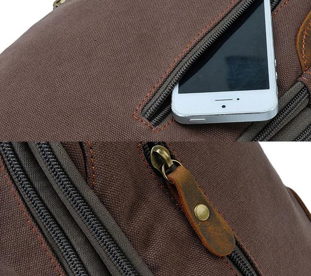 Рюкзак через плечо Augur детальное фото