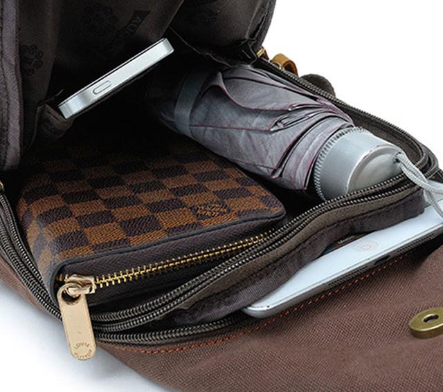 Рюкзак через плечо Augur в применении