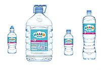 """728_Годен_до_13.07.20 Вода бутильована """"Малиш""""для приготування дитячого харчування та пиття,0,33л"""