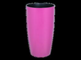 """Вазон """"Альфа"""" d22*41,5см. (тёмно-розовый)"""