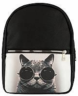 Рюкзак Coswer коты черные очки, фото 1