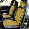 Чехлы на сиденья БМВ Е60 (BMW E60) (универсальные, автоткань, пилот), фото 4