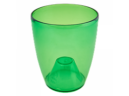"""Вазон """"Орхідея"""" 12*14 см. (зелен. тощо)"""