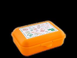 Бутербродница (Ланч, светло-оранж.)