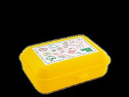 Бутербродниця (Ланч, т. жовта)